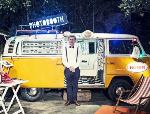 photobooth bus volkswagen t2