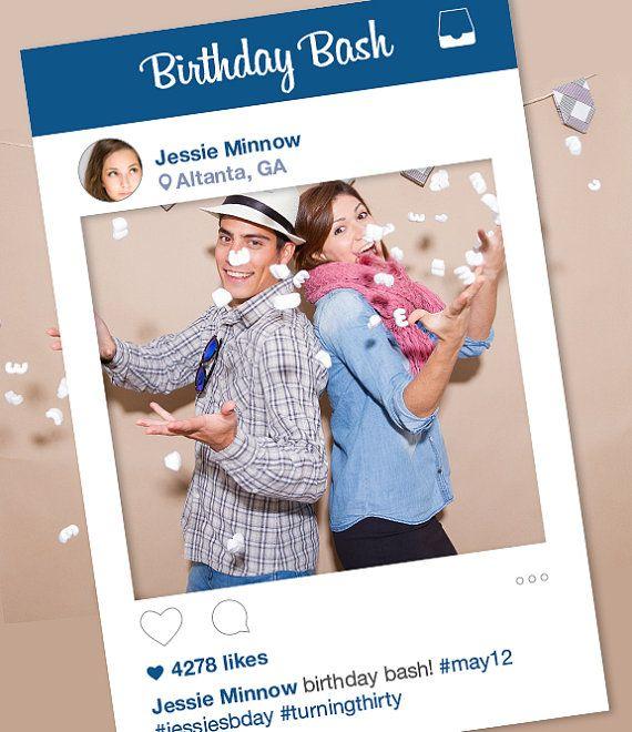 Levensgroot Instagram Frame Kopen Photoboothnl