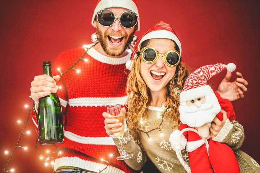 Polaroid camera huren voor een kerstborrel