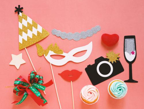 Photobooth props bruiloft