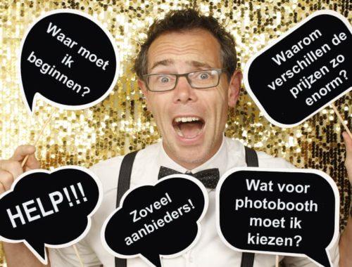 Photobooth huren vragen