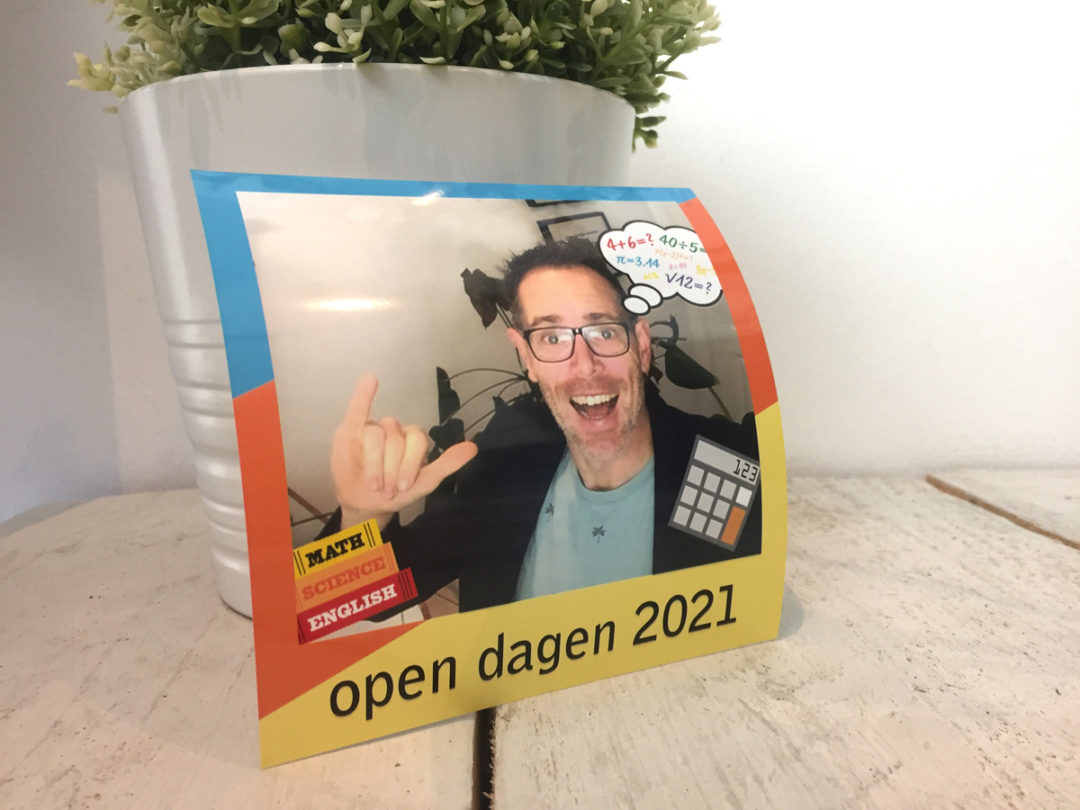 digitale open dag selfiebooth