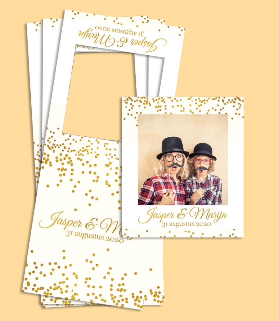 polaroid foto sticker frame fotohoesje